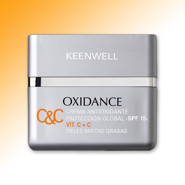 ANTIOXIDANT GLOBAL PROTECTIVE CREAM VIT. C+C SPF 15 • OILY - MIX SKIN