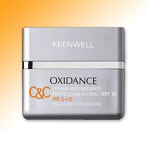 ANTIOXIDANT GLOBAL PROTECTIVE CREAM VIT. C+C SPF 15 • OILY - MIX SKIN
