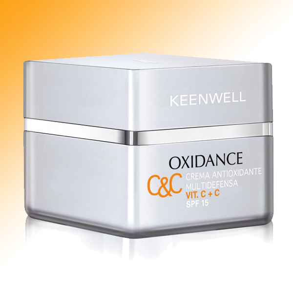 ANTIOXIDANT MULTIDEFENSE CREAM VIT. C+C · SPF 15