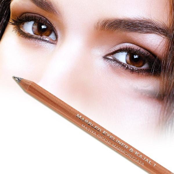 Marbled Eyeliner & Kajal