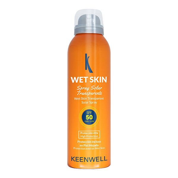 Wet Skin Transparent Solar Spray SPF 50