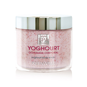 Gommage Corporal - Yougurt Body Scrub with Strawberry