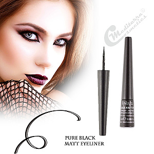 Pure Black Matt Eyeliner